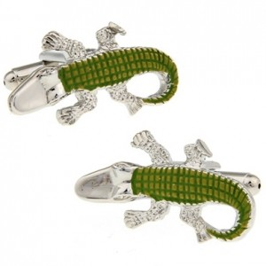 Запонки Крокодил