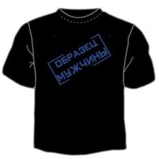 Мужская футболка Образец мужчины