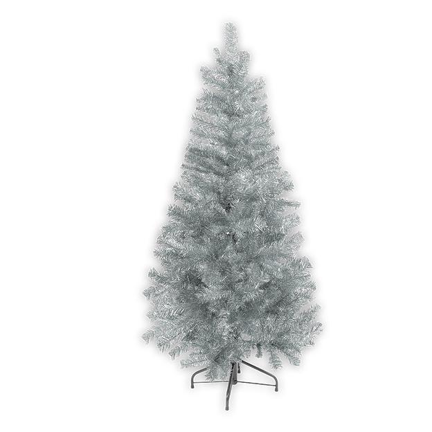 Ёлка фольгированная X'MAS TREE SILVER