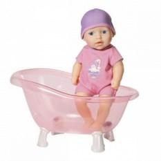 Твердотелая кукла с ванночкой Baby Annabell