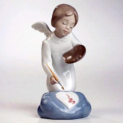 Статуэтка «Ангел с красками Это - для тебя!»
