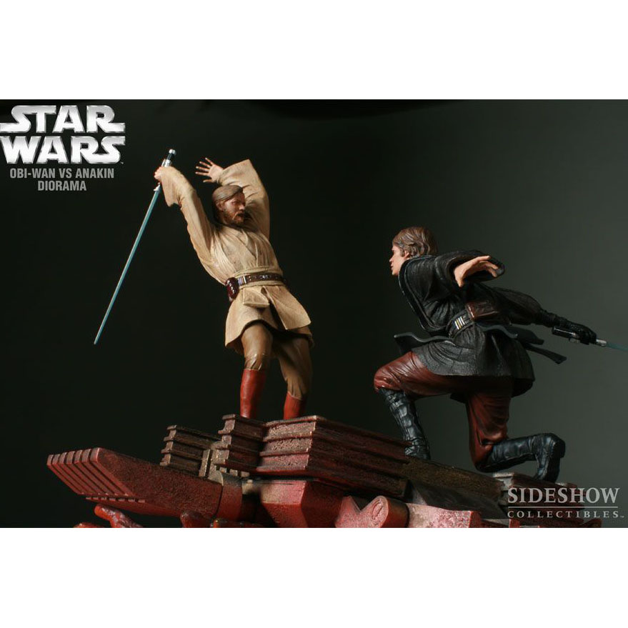 Диорама Obi-Wan VS Anakin