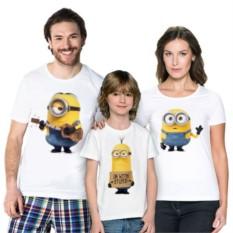 Набор семейных футболок Миньоны