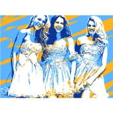Картина по фото с обработкой поп-арт