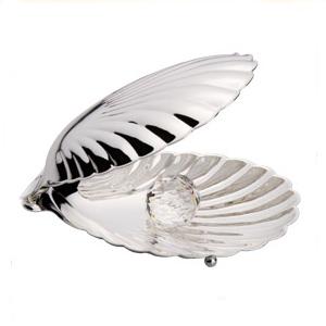 Раковина «Серебристый павлин»