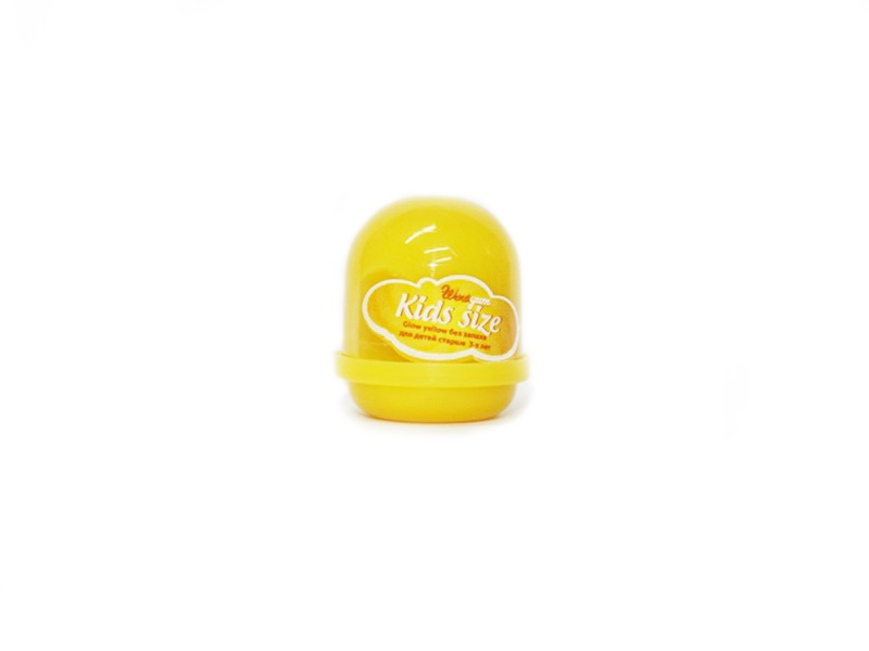 Жвачка для рук Glow yellow Kids, без запаха