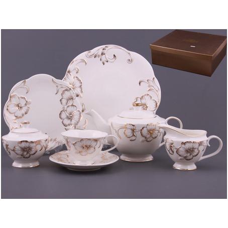 Чайный сервиз «Белый цветок»