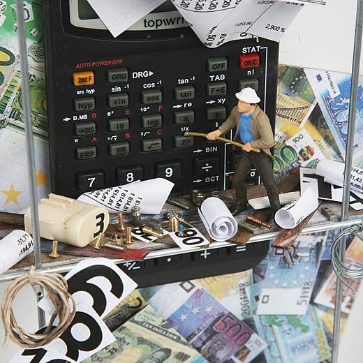 3D-картина «Большие деньги»