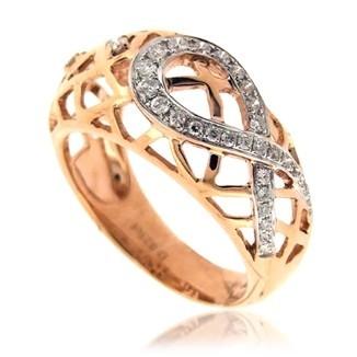 Кольцо с бриллиантами TTF-Luxury
