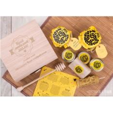 Подарочный набор мёда Любимой маме