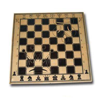 Доска шахматная деревянная гроссмейстерская