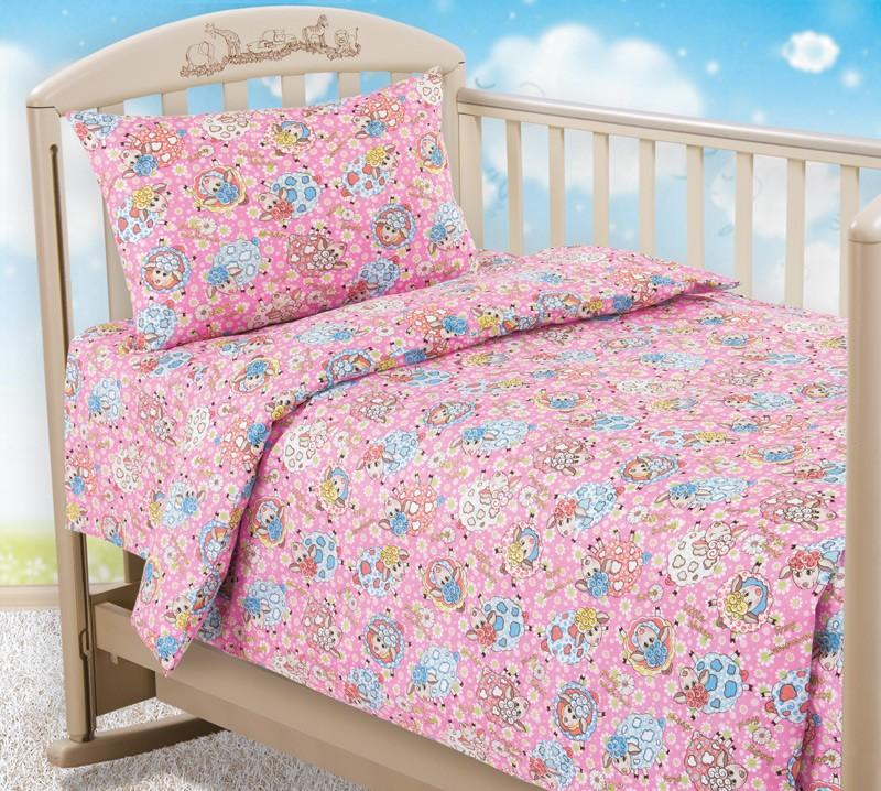 Комплект постельного белья Овечки (ясельный)