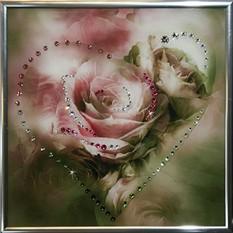 Картина со стразами Сердечко №3