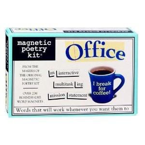 Карточки на английском Office Magnetic Poetry Kit