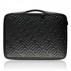 """Сумка-чехол для MacBook 15.4 """"  """"Лого """" (цвет - угольно-серый) купить в..."""