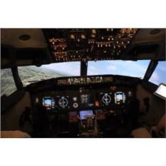 Сертификат Полет 30 минут на авиатренажере Боинга