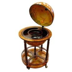 Напольный глобус-бар (диаметр сферы 42 см)