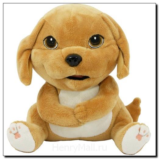 Игрушка плюшевая щенок Денни