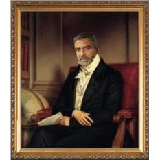 Оригинальный портрет преподавателю