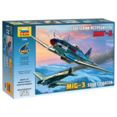 Сборная модель Советский истребитель МиГ-3
