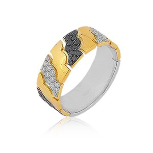Кольцо с бриллиантами Mega Gold