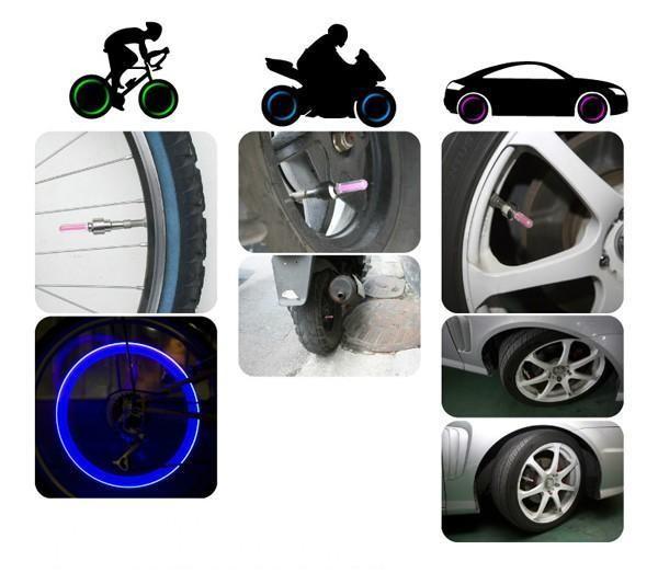Подсветка колеса