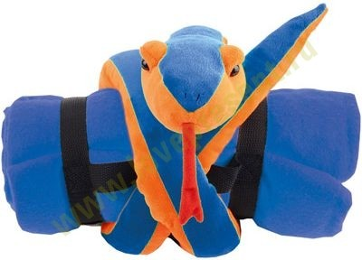 Новогодний набор: мягкая игрушка Змея с пледом