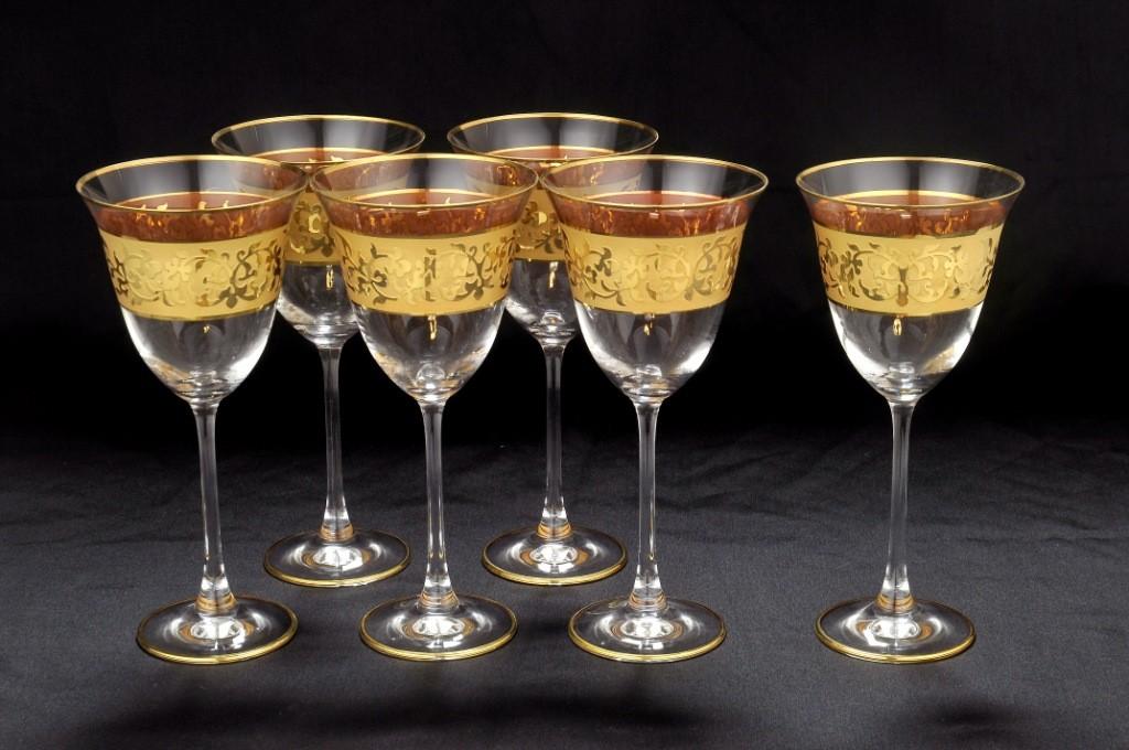 Набор из 6 бокалов для воды CristalRobertLine