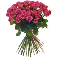 Букет из 51 розы сорта Аква (50 см)