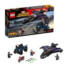 Конструктор Lego Super Hero Преследование Чёрной Пантеры