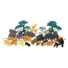 Игровой набор из 40 предметов Сафари