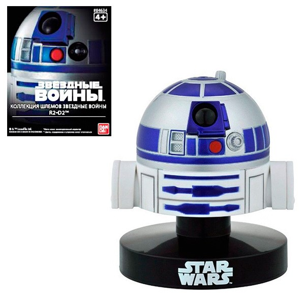 Модель на подставке Star Wars Bandai Шлем Пилота R2-D2