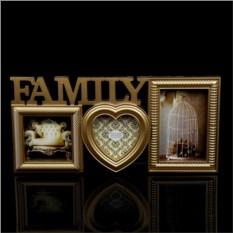 Фоторамка Family (цвет - золото)