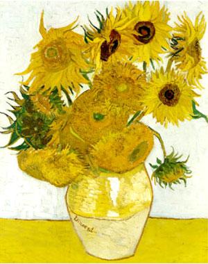 Постер: Ван Гог «Подсолнухи»