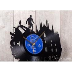 Часы из виниловой пластинки Милан