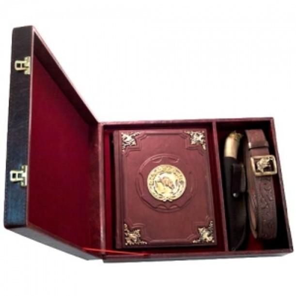 Подарочный набор «Охотник» (книга с накладками)