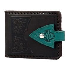 Кожаный кошелек «Сага»