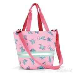 Детская сумка Shopper xs cactus pink