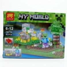 Конструктор Lele Minecraft Зомби и овечка