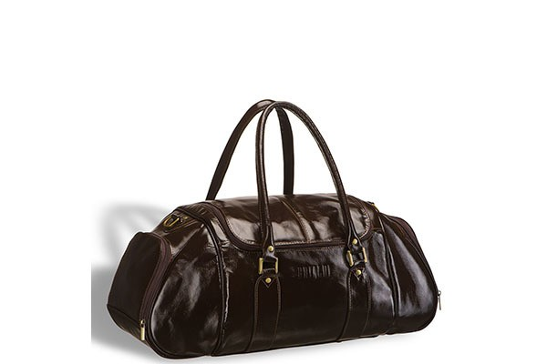 Коричневая дорожно-спортивная сумка Brialdi Modena