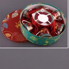 Чайный набор на 6 персон Бурлеск