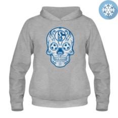 Утепленная толстовка-кенгуру Schalke Мексиканский череп