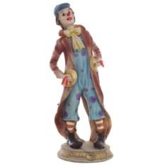 Декоративная фигурка Клоун в голубых штанах