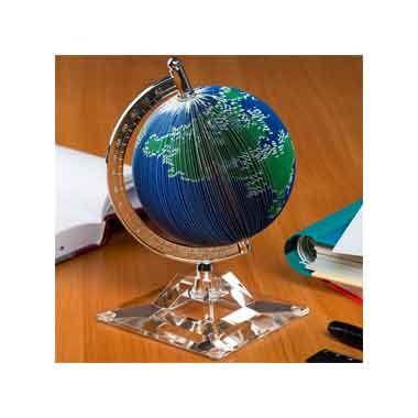 Блок-куб-глобус земной шар