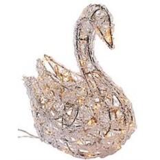Светящаяся фигурка Ажурный лебедь