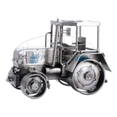 Статуэтка из металла Трактор