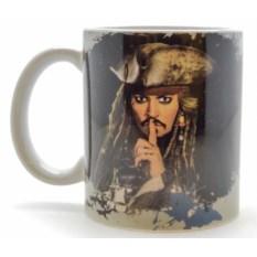 Кружка Пираты Карибского Моря. Капитан Джек Воробей