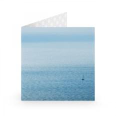 Открытка Кораблик в океане