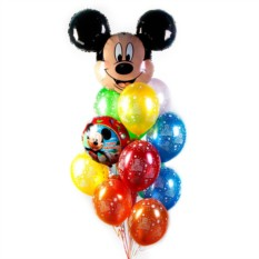 Букет с Микки С Днем рождения
