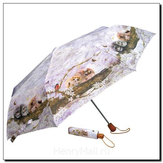 Зонт механический «Весеннее цветение»